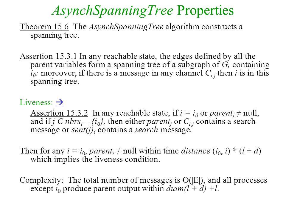 AsynchSpanningTree Properties