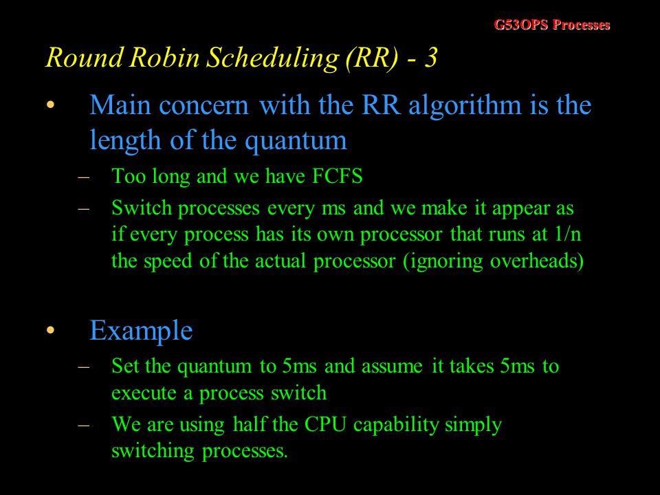 Round Robin Scheduling (RR) - 3