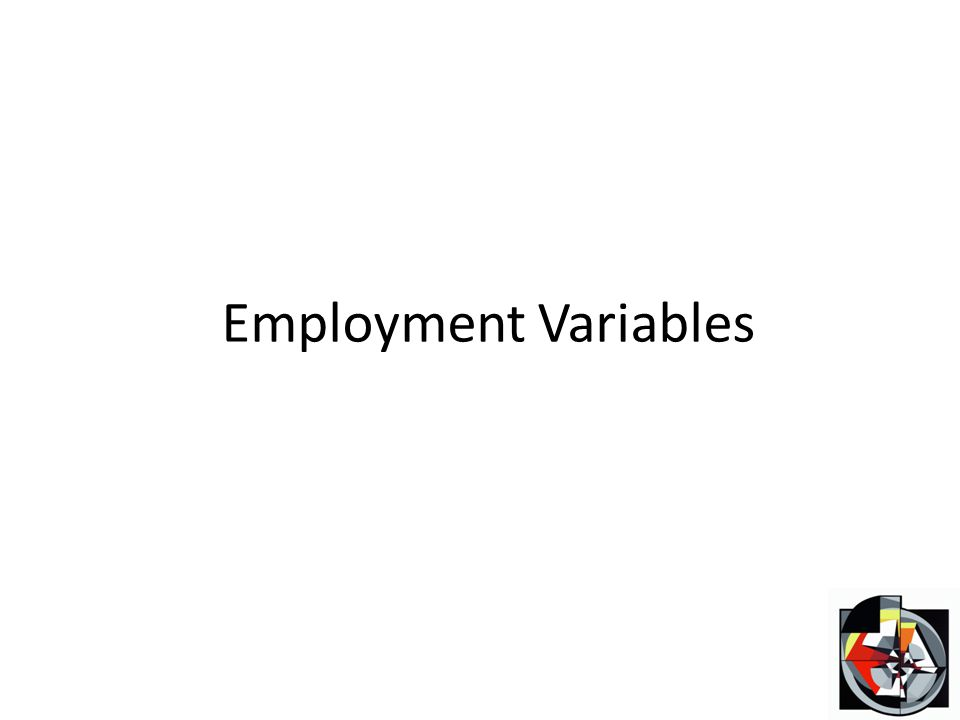 Employment Variables