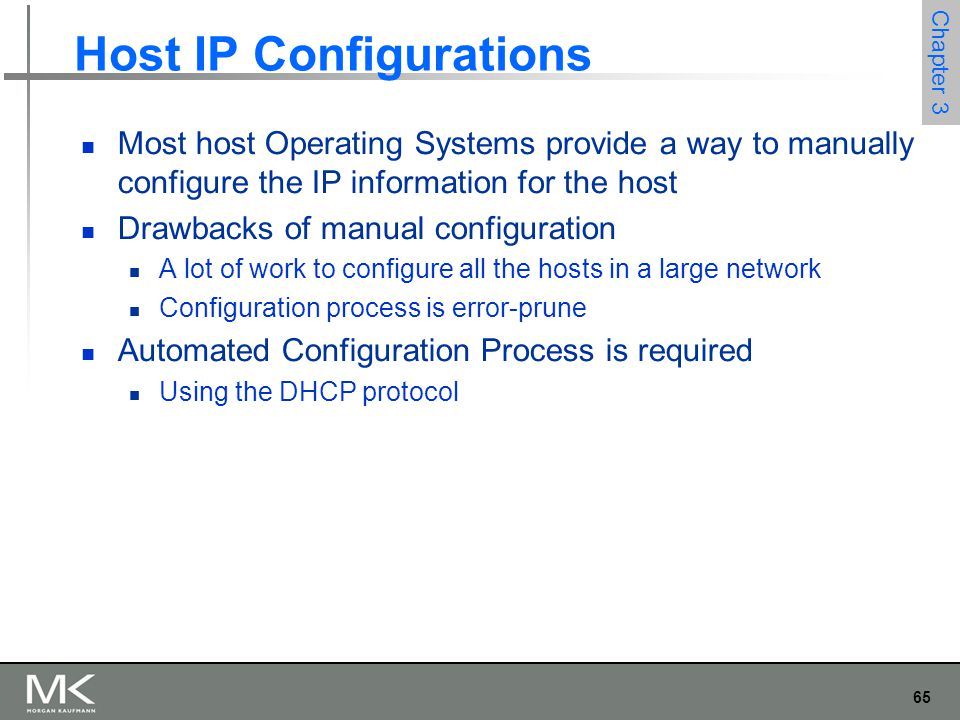 Host IP Configurations