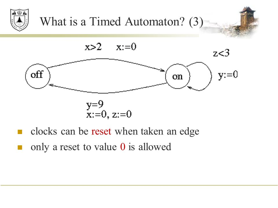 What is a Timed Automaton (3)