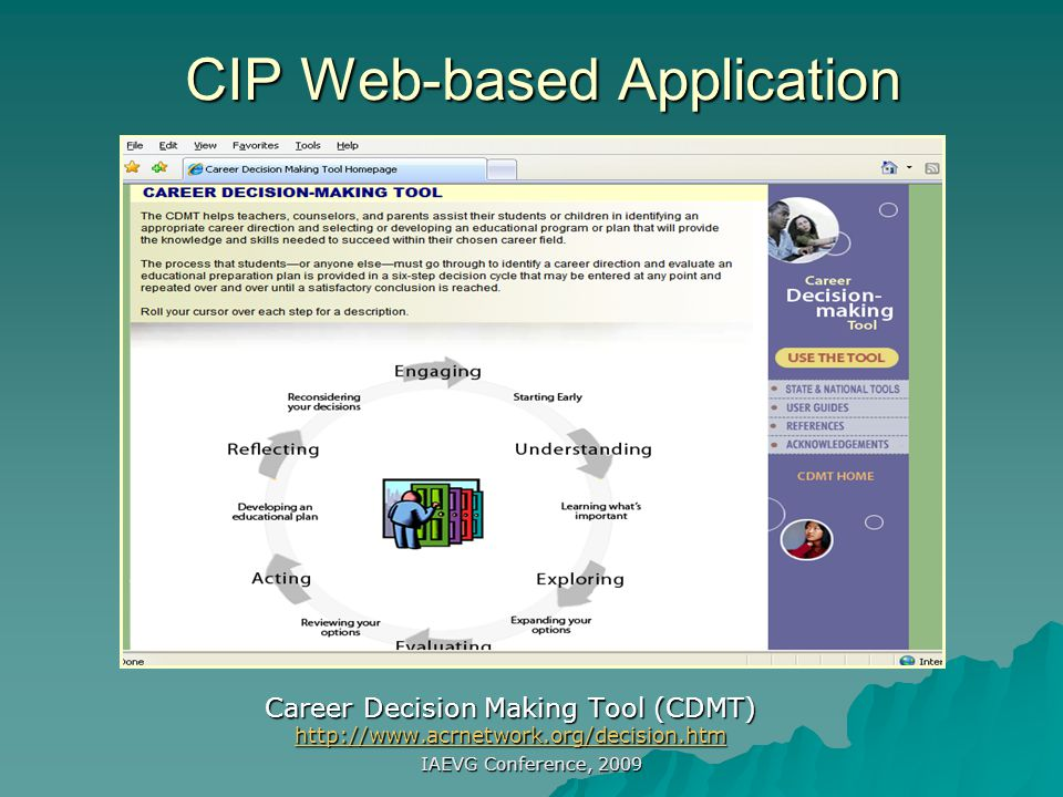 CIP Web-based Application
