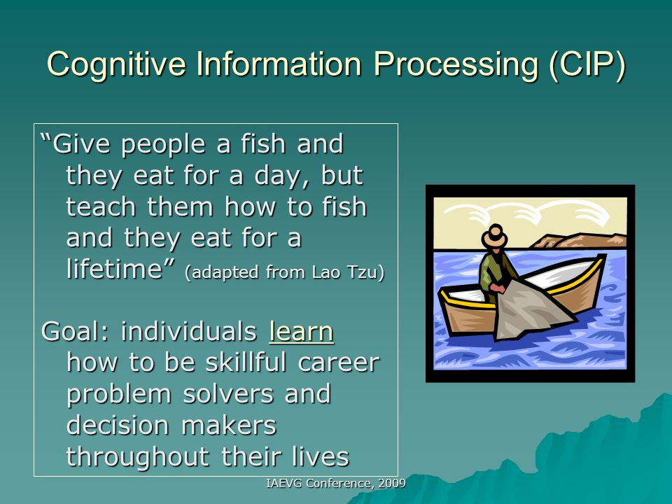 Cognitive Information Processing (CIP)
