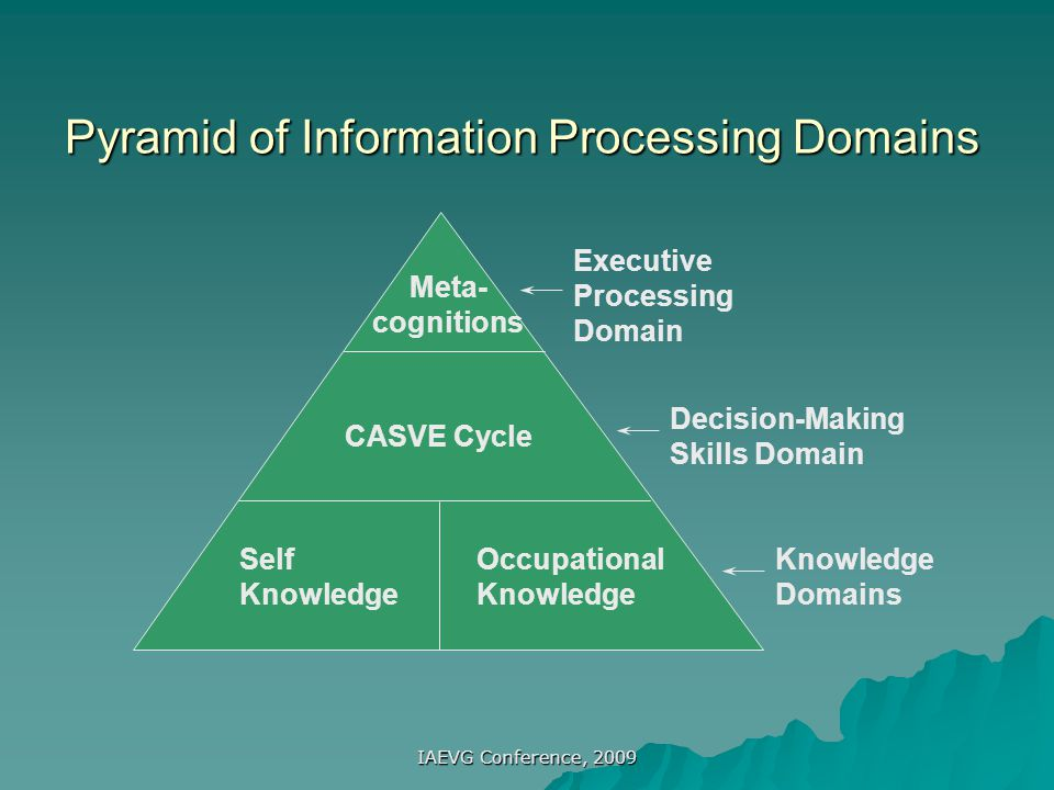 Pyramid of Information Processing Domains