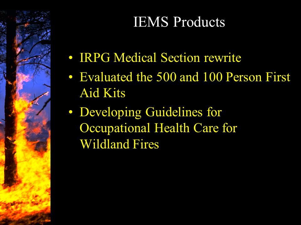 IEMS Products IRPG Medical Section rewrite