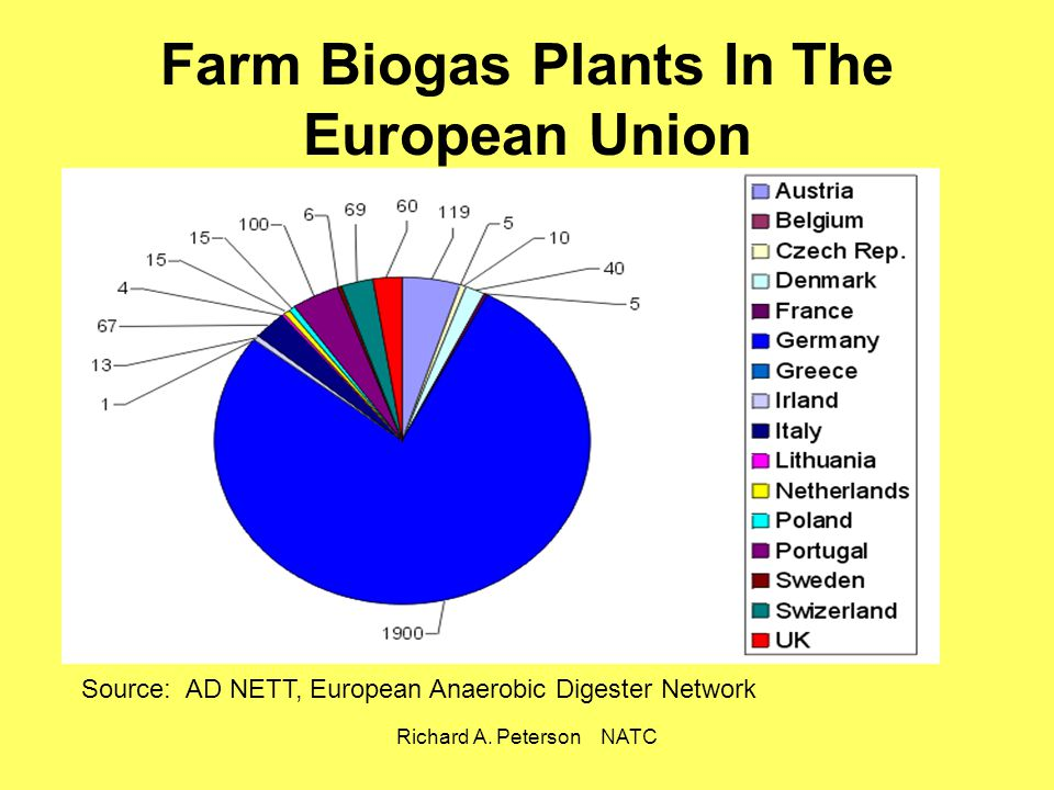 Farm Biogas Plants In The European Union