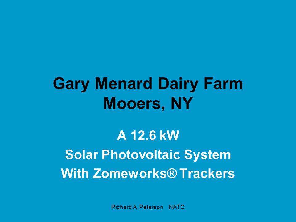 Gary Menard Dairy Farm Mooers, NY