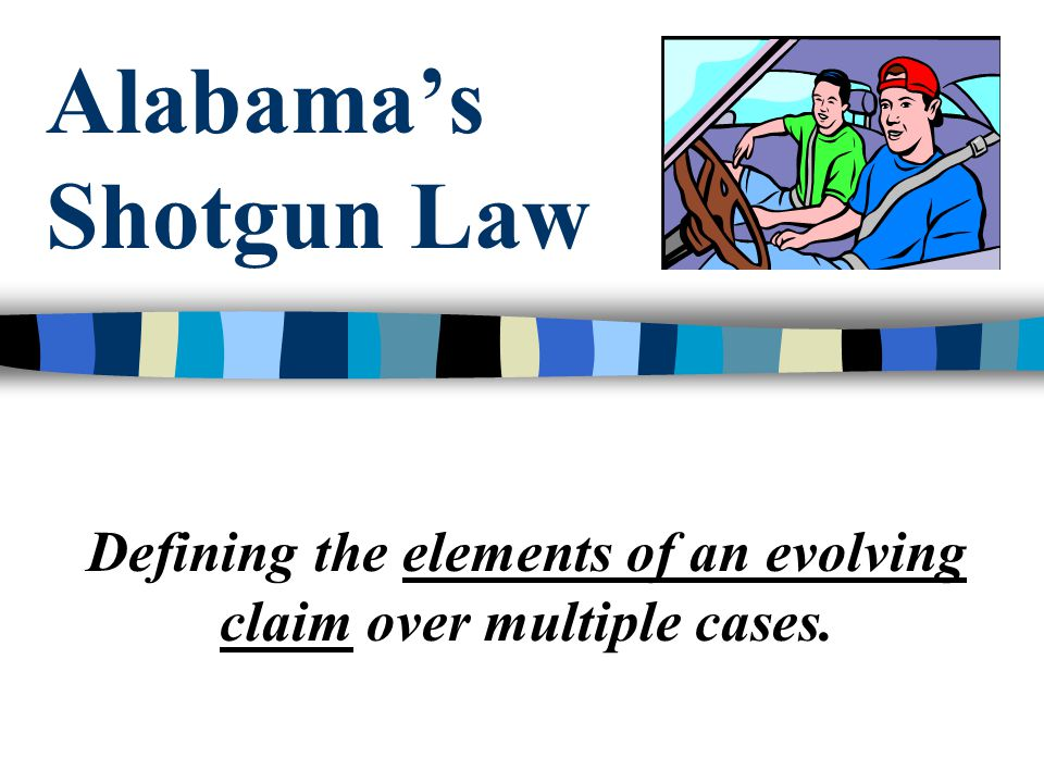 Defining the elements of an evolving claim over multiple cases.