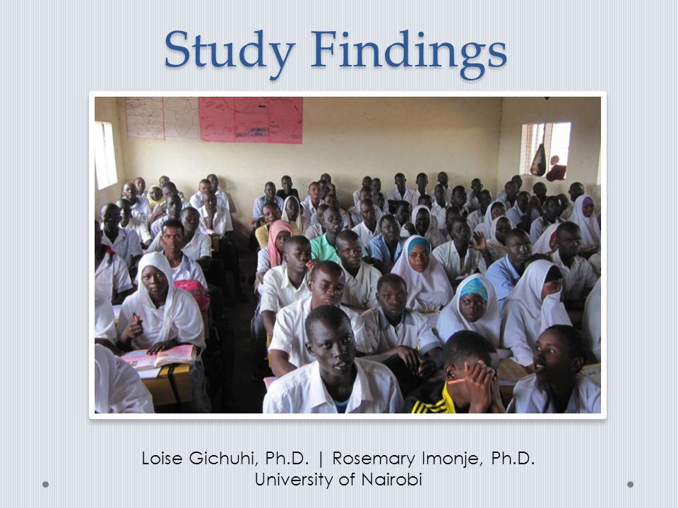 Loise Gichuhi, Ph.D. | Rosemary Imonje, Ph.D.