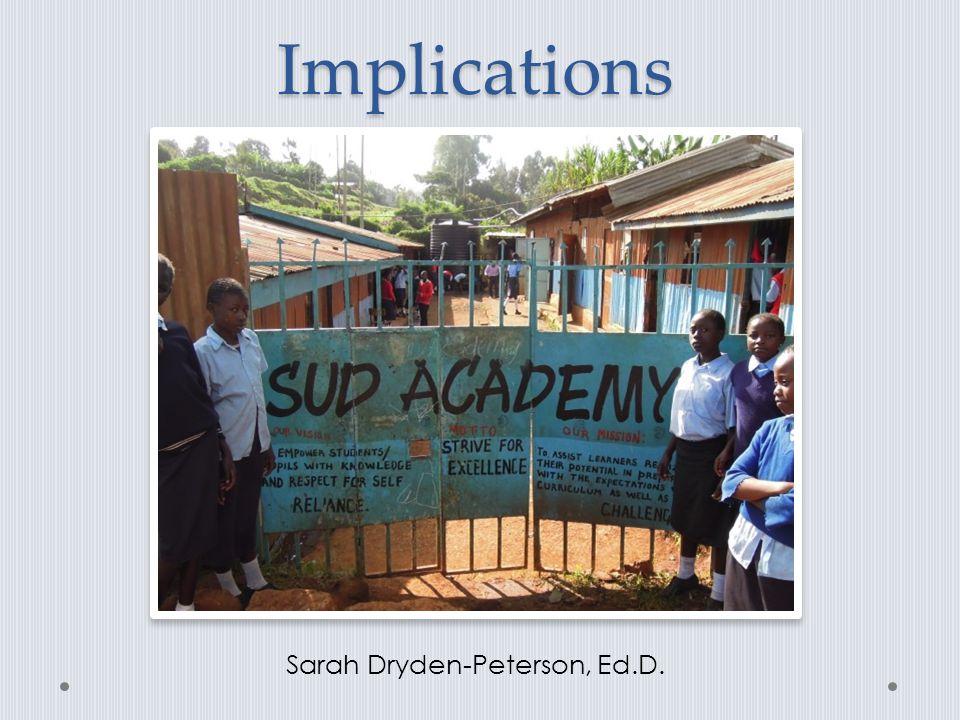 Sarah Dryden-Peterson, Ed.D.