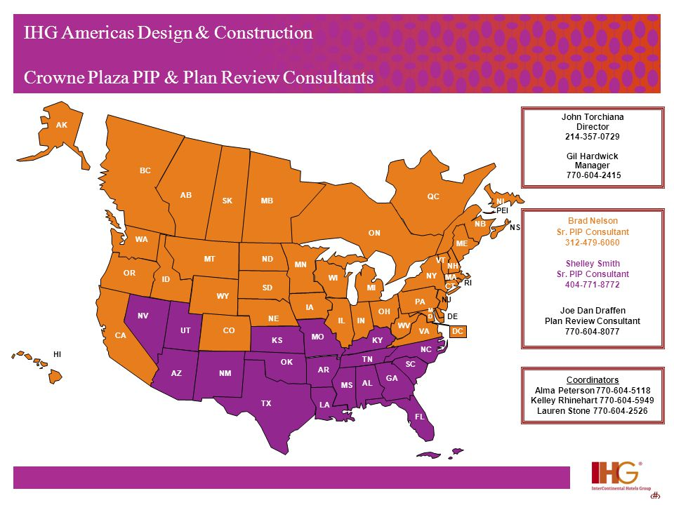 IHG Americas Design & Construction