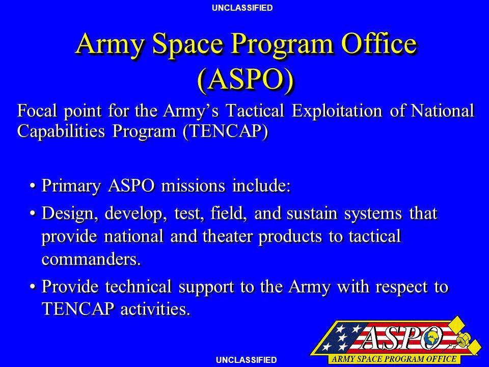Army Space Program Office (ASPO)