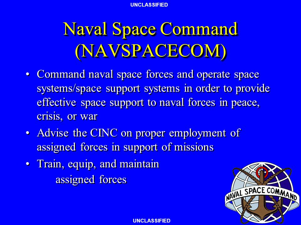 Naval Space Command (NAVSPACECOM)