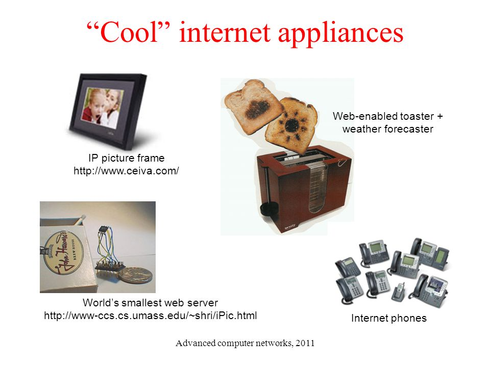 Cool internet appliances