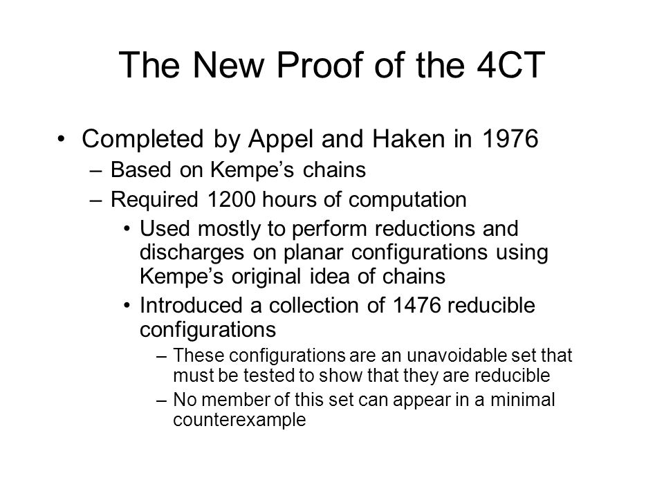 The New Proof of the 4CT Completed by Appel and Haken in 1976