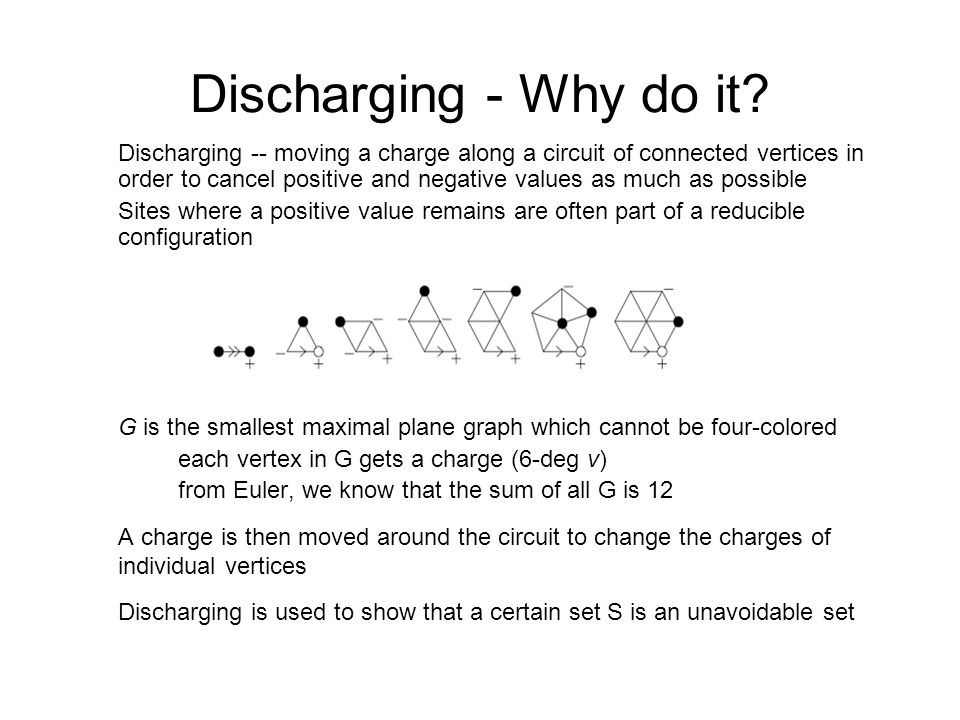 Discharging - Why do it