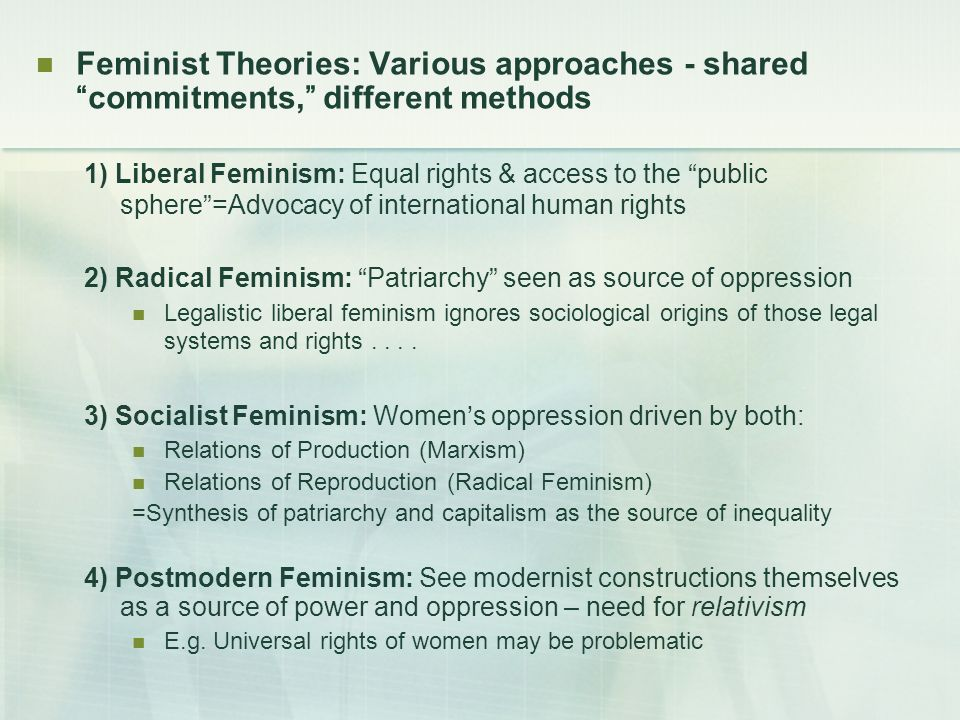 the feminists approaches to sociological theories What are the strengths and weaknesses of the feminist theory or feminism need it for a sociology research paper.