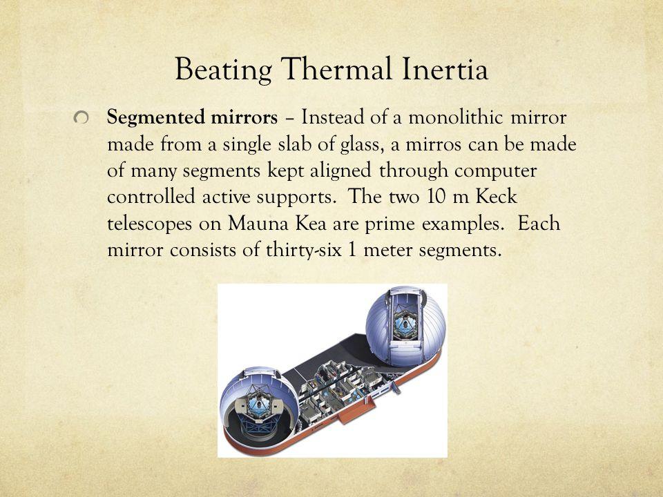 Beating Thermal Inertia