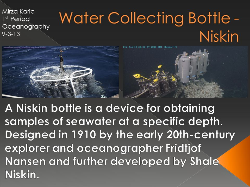 Water Collecting Bottle - Niskin