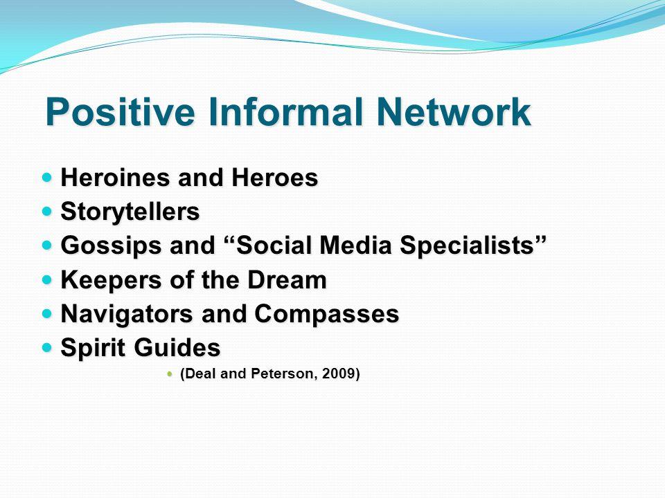 Positive Informal Network