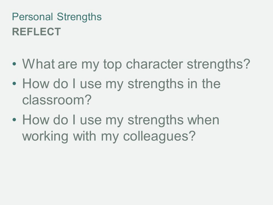 What are my top character strengths