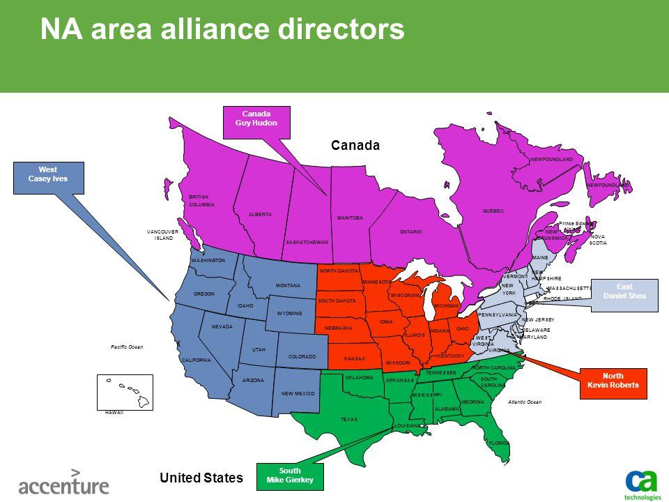 NA area alliance directors