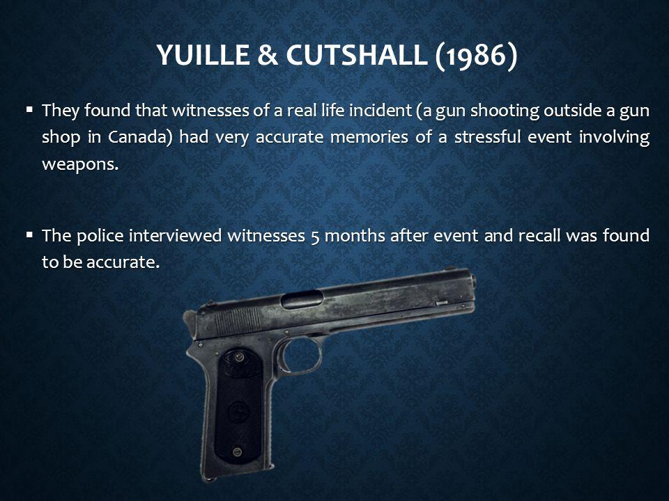 Yuille & Cutshall (1986)