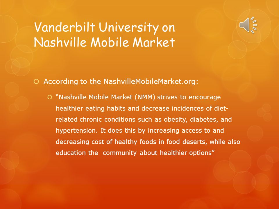 Vanderbilt University on Nashville Mobile Market