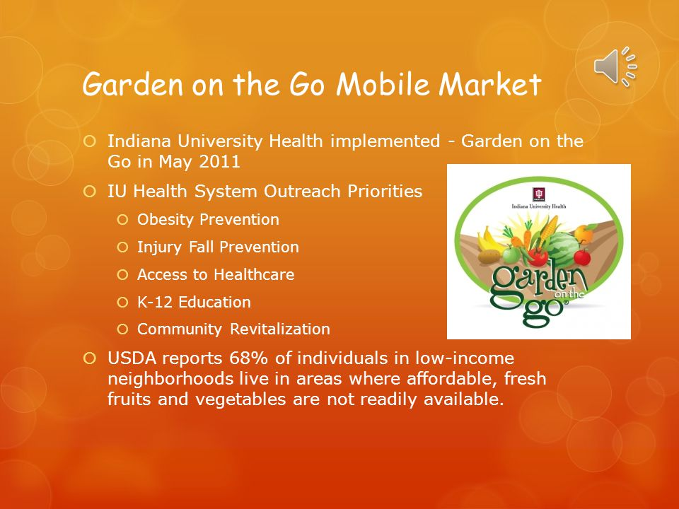Garden on the Go Mobile Market