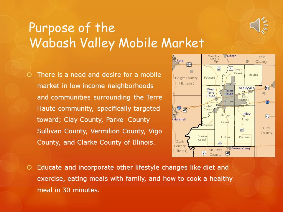 Purpose of the Wabash Valley Mobile Market