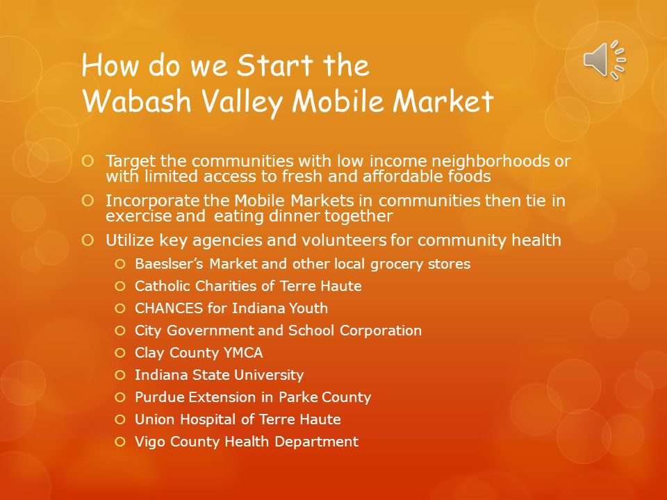 How do we Start the Wabash Valley Mobile Market