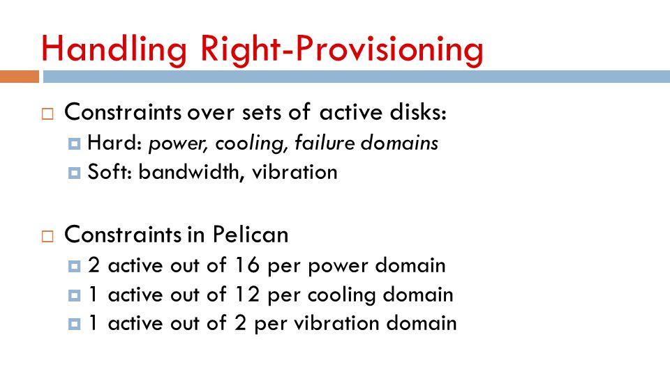 Handling Right-Provisioning