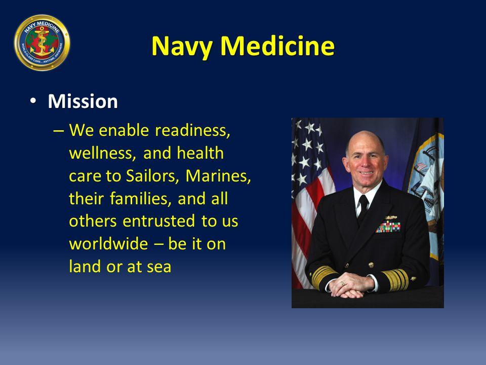 Navy Medicine Mission.