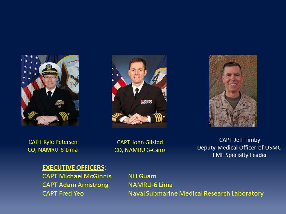 Deputy Medical Officer of USMC