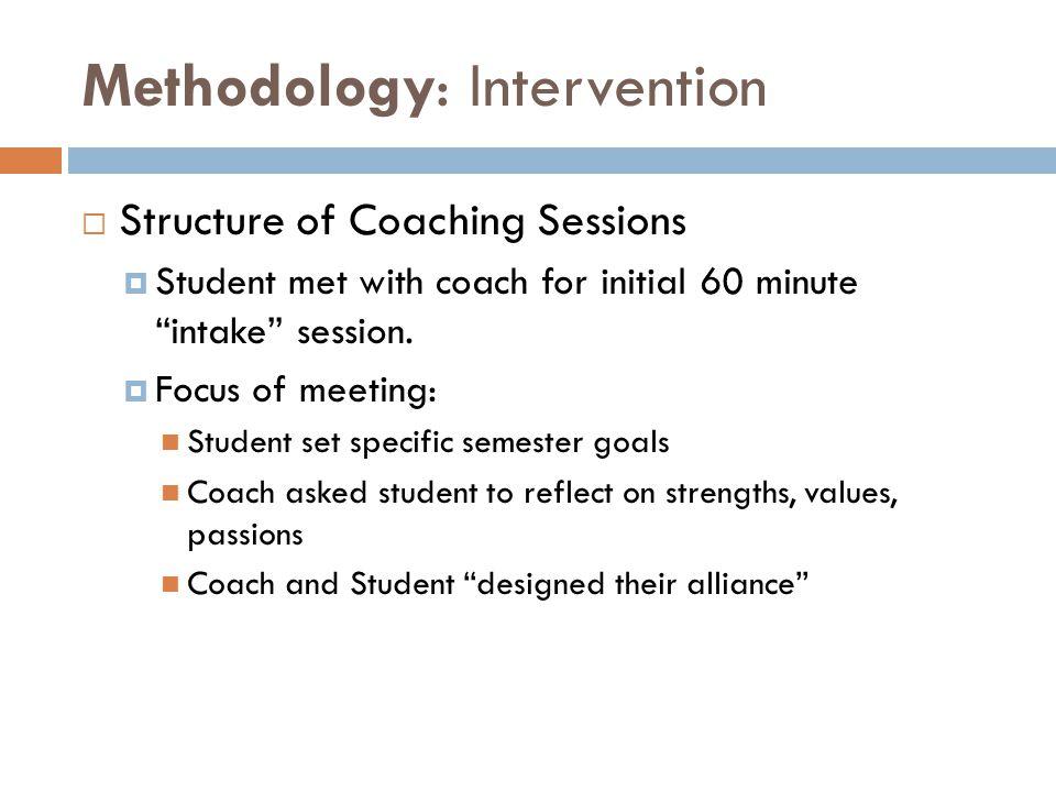 Methodology: Intervention