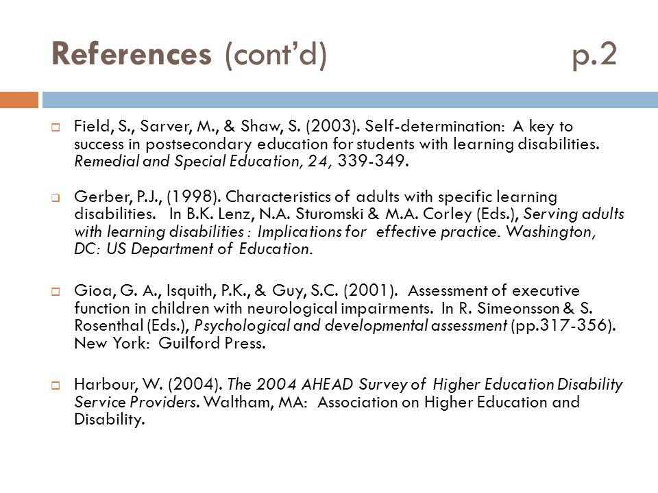 References (cont'd) p.2