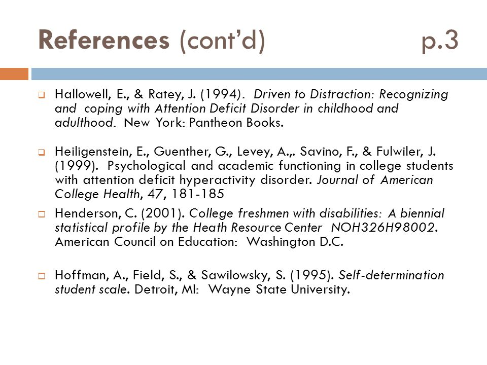References (cont'd) p.3