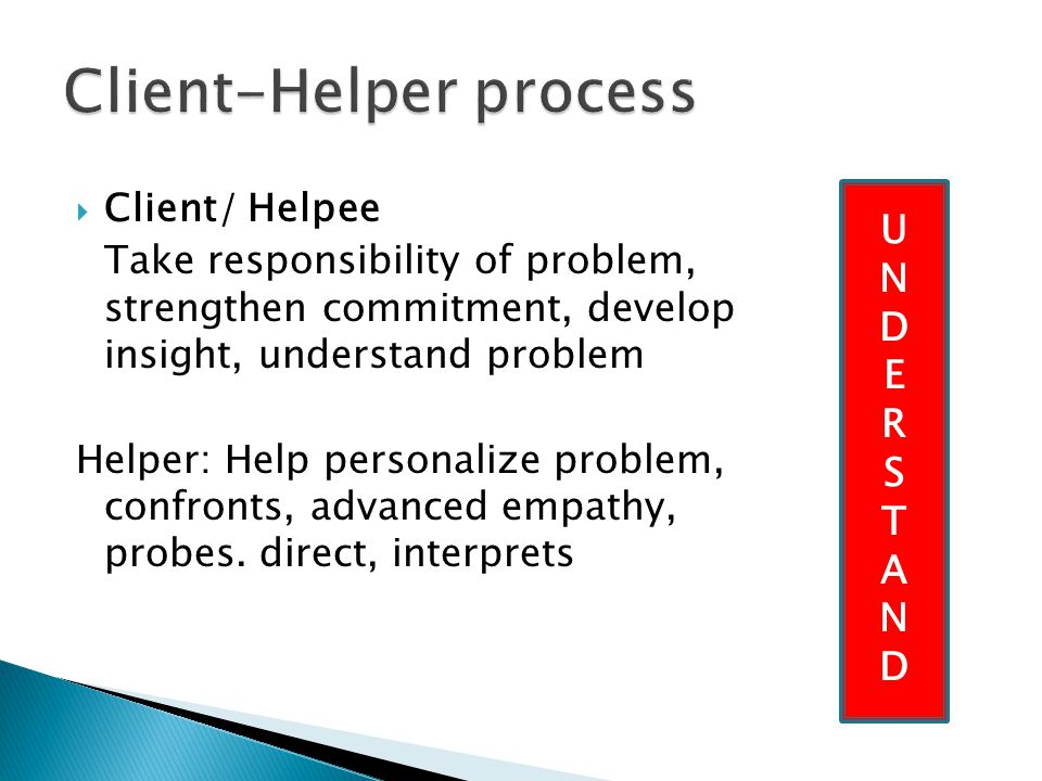Client-Helper process