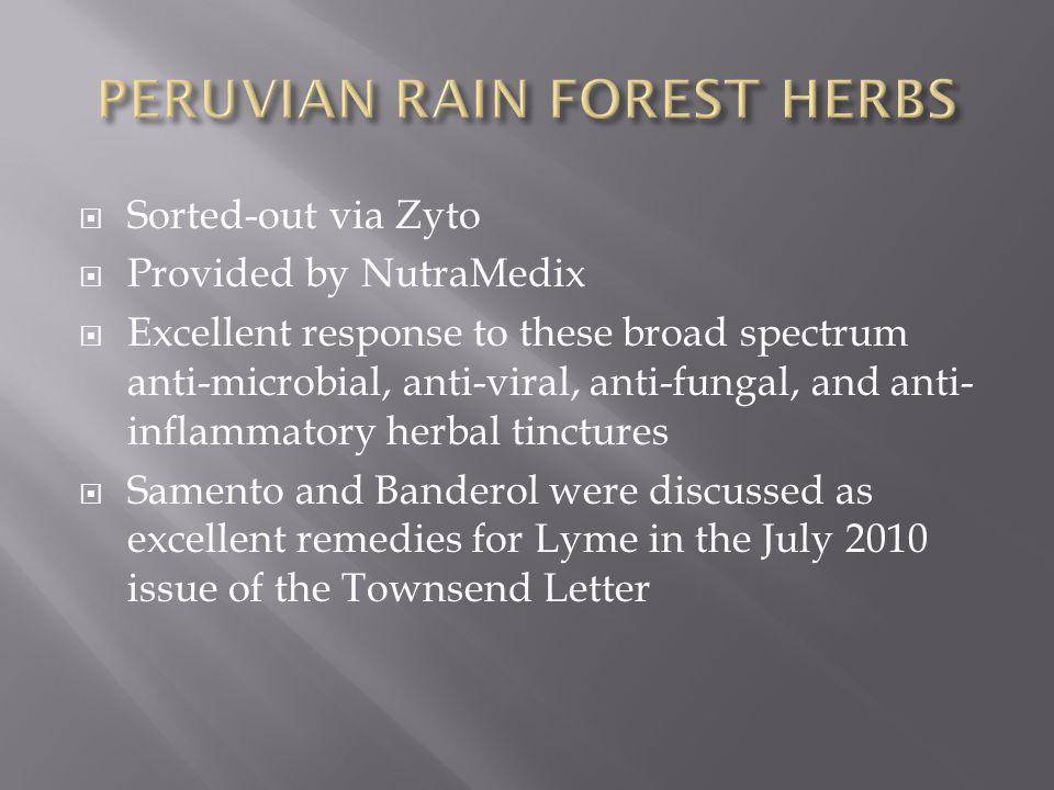 PERUVIAN RAIN FOREST HERBS