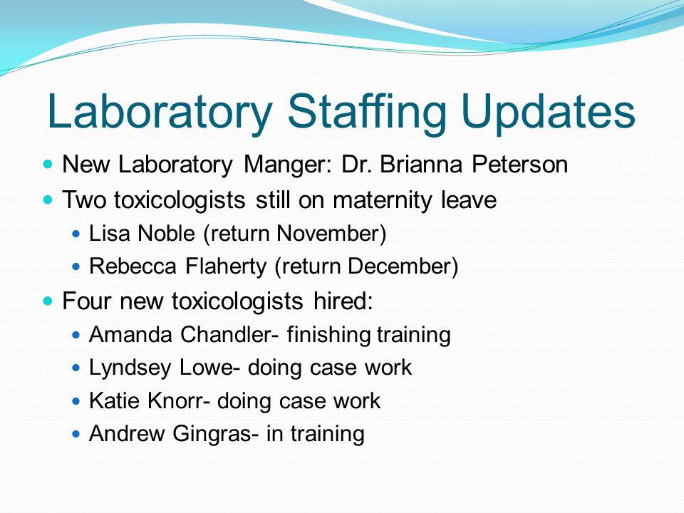 Laboratory Staffing Updates