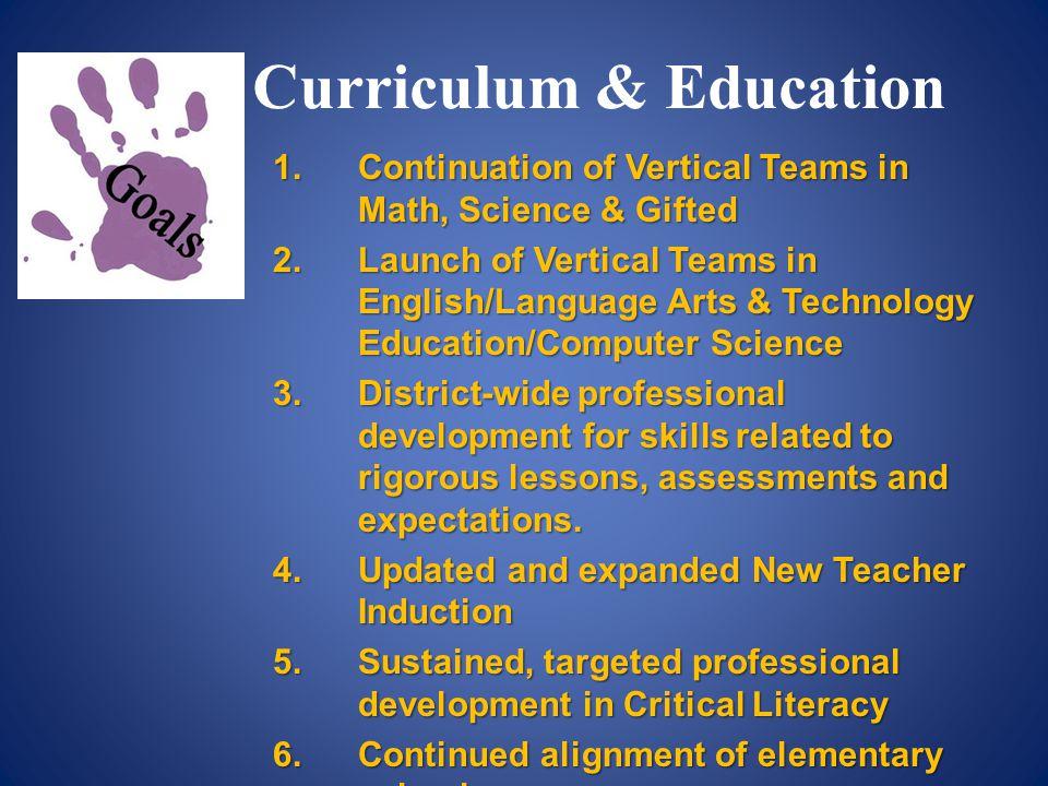 Curriculum & Education