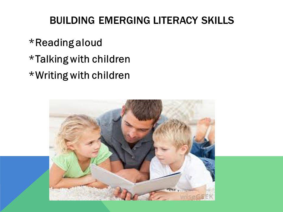 Building emerging literacy skills