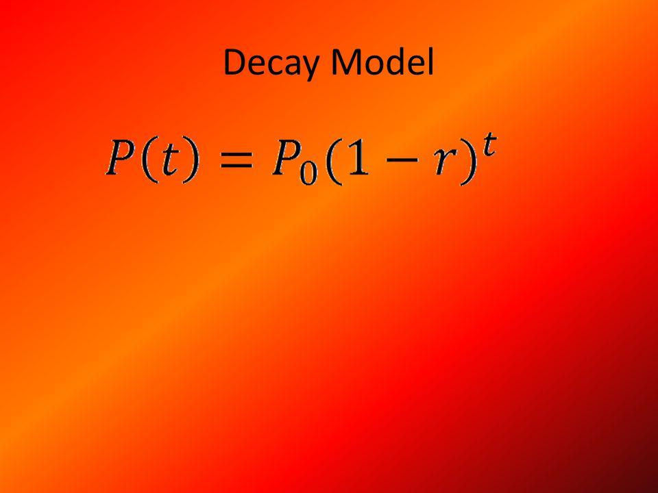 Decay Model