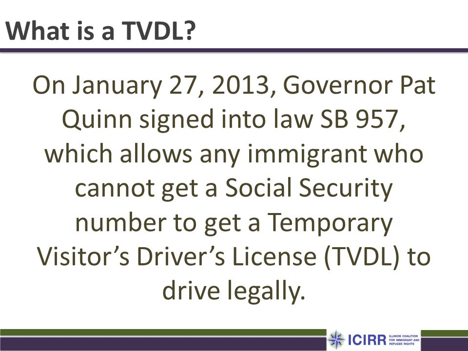 What is a TVDL