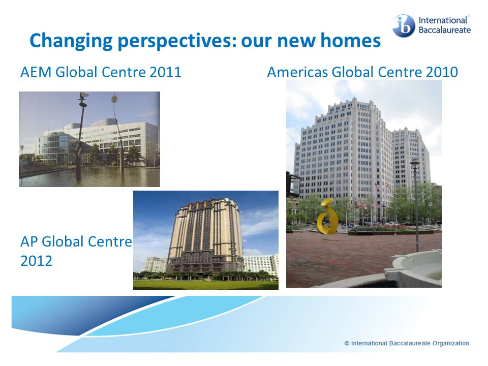Changing perspectives: our new homes