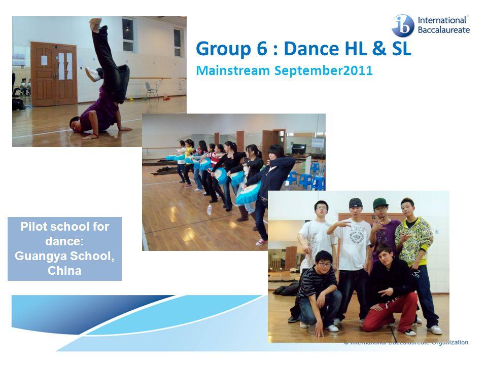 Pilot school for dance: