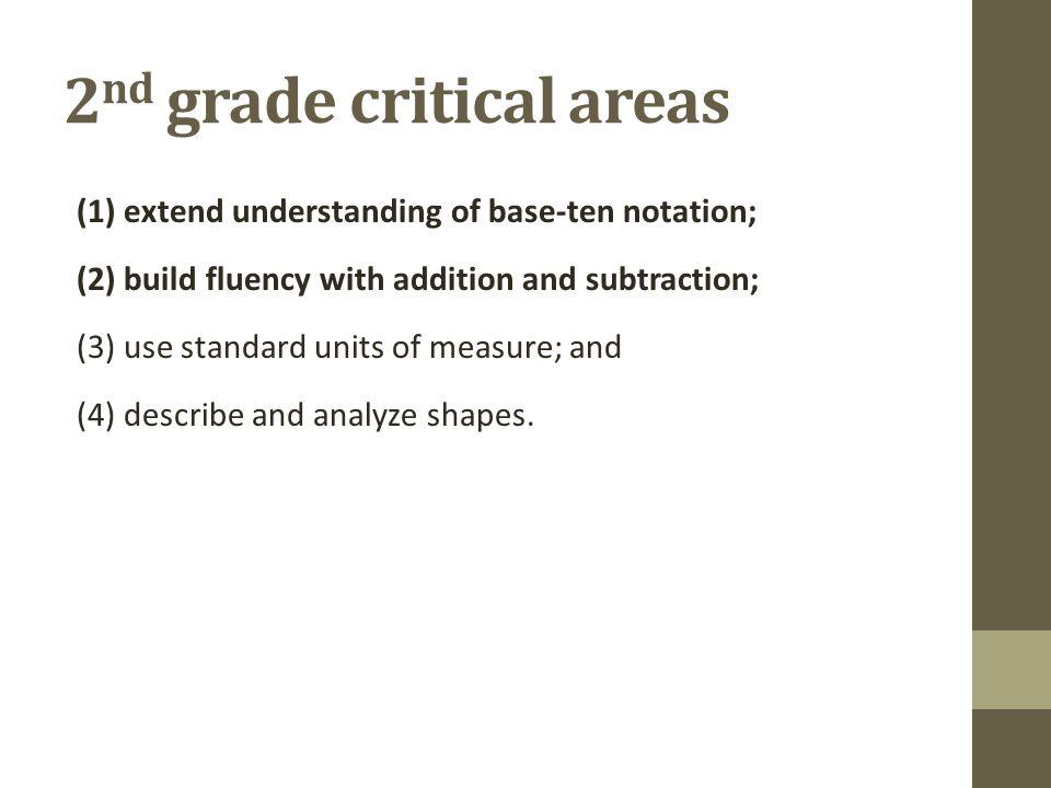 2nd grade critical areas