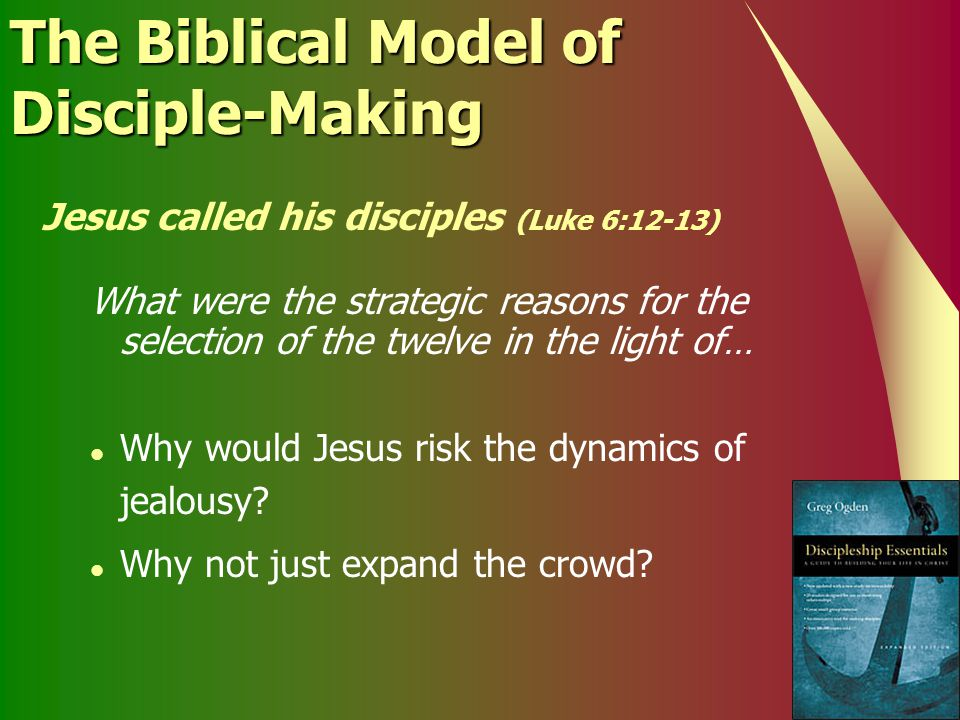 The Biblical Model of Disciple-Making