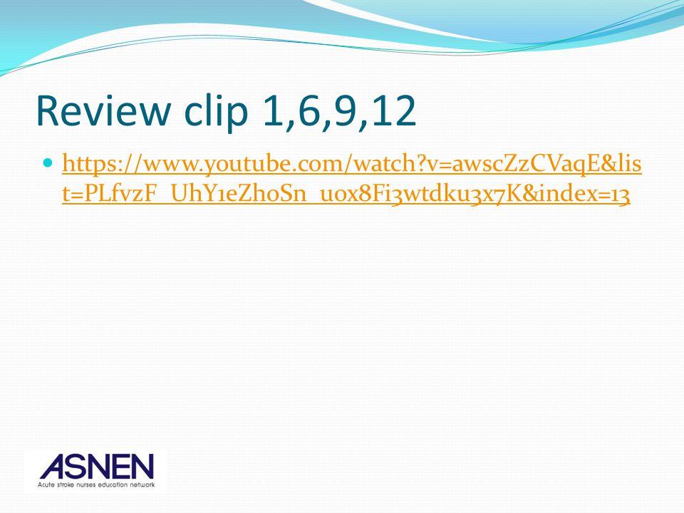 Review clip 1,6,9,12 https://www.youtube.com/watch v=awscZzCVaqE&list=PLfvzF_UhY1eZhoSn_uox8Fi3wtdku3x7K&index=13.