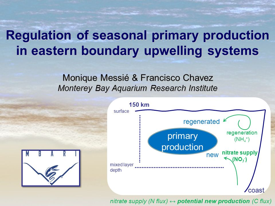 Regulation of seasonal primary production in eastern boundary upwelling systems